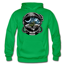 Load image into Gallery viewer, Brewed in Space - Heavy Blend Hoodie - kelly green