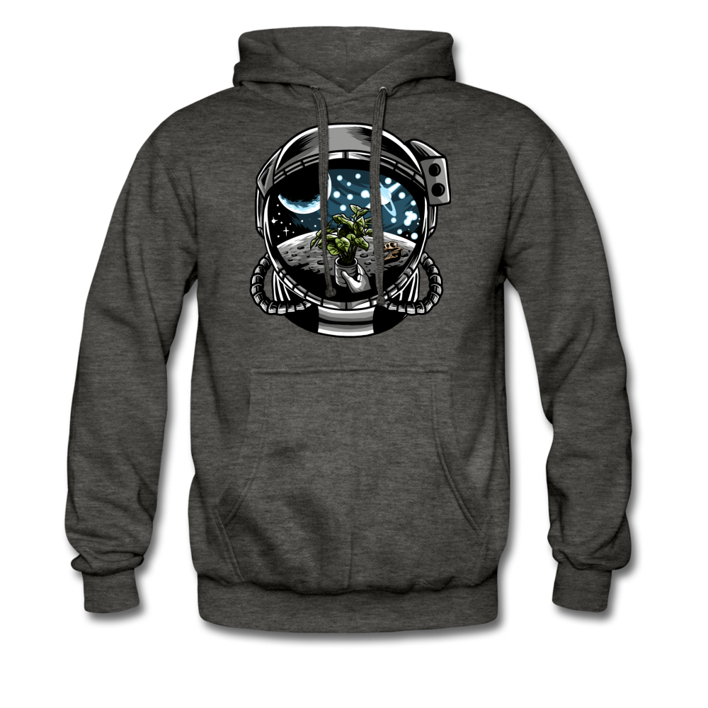 Brewed in Space - Heavyweight Hoodie - charcoal