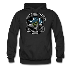 Brewed in Space - Heavyweight Hoodie - black