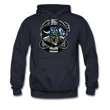 Load image into Gallery viewer, Brewed in Space - Heavyweight Hoodie - navy