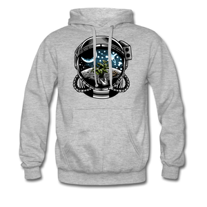 Brewed in Space - Heavyweight Hoodie - heather grey