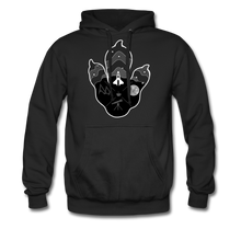 Load image into Gallery viewer, Logo Paw - Heavyweight Hoodie - black