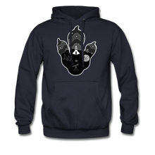 Load image into Gallery viewer, Logo Paw - Heavyweight Hoodie - navy