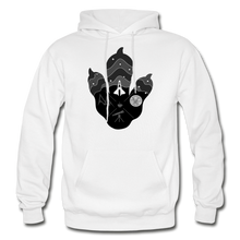 Load image into Gallery viewer, Logo Paw - Heavy Blend Hoodie - white