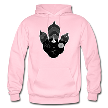 Load image into Gallery viewer, Logo Paw - Heavy Blend Hoodie - light pink