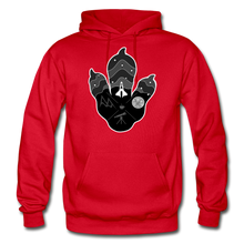 Load image into Gallery viewer, Logo Paw - Heavy Blend Hoodie - red