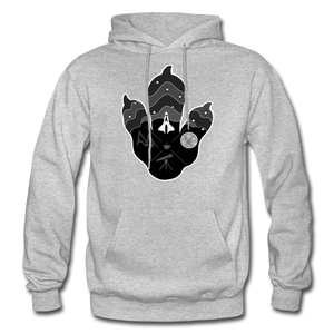 Logo Paw - Heavy Blend Hoodie - heather gray