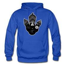 Load image into Gallery viewer, Logo Paw - Heavy Blend Hoodie - royal blue