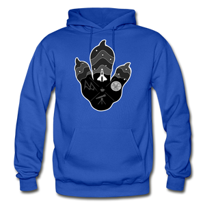 Logo Paw - Heavy Blend Hoodie - royal blue