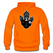 Load image into Gallery viewer, Logo Paw - Heavy Blend Hoodie - orange