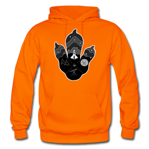 Logo Paw - Heavy Blend Hoodie - orange
