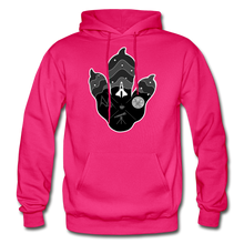 Load image into Gallery viewer, Logo Paw - Heavy Blend Hoodie - fuchsia