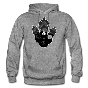 Logo Paw - Heavy Blend Hoodie - graphite heather