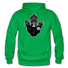 Load image into Gallery viewer, Logo Paw - Heavy Blend Hoodie - kelly green