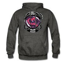 Load image into Gallery viewer, Heart Nebula - Heavyweight Hoodie - charcoal