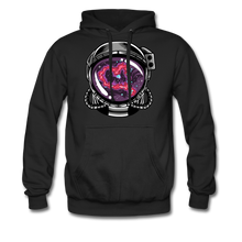 Load image into Gallery viewer, Heart Nebula - Heavyweight Hoodie - black