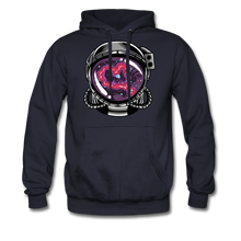 Load image into Gallery viewer, Heart Nebula - Heavyweight Hoodie - navy