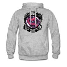 Load image into Gallery viewer, Heart Nebula - Heavyweight Hoodie - heather grey