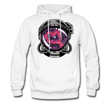 Load image into Gallery viewer, Heart Nebula - Midweight Hoodie - white