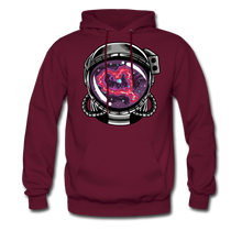 Load image into Gallery viewer, Heart Nebula - Midweight Hoodie - burgundy