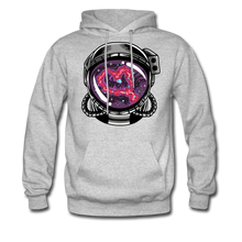 Load image into Gallery viewer, Heart Nebula - Midweight Hoodie - heather gray