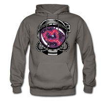 Load image into Gallery viewer, Heart Nebula - Midweight Hoodie - asphalt gray