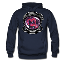 Load image into Gallery viewer, Heart Nebula - Midweight Hoodie - navy