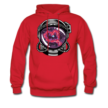Load image into Gallery viewer, Heart Nebula - Midweight Hoodie - red
