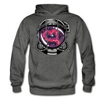 Load image into Gallery viewer, Heart Nebula - Midweight Hoodie - charcoal gray