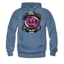Load image into Gallery viewer, Heart Nebula - Midweight Hoodie - denim blue