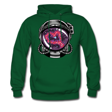 Load image into Gallery viewer, Heart Nebula - Midweight Hoodie - forest green