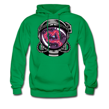 Load image into Gallery viewer, Heart Nebula - Midweight Hoodie - kelly green