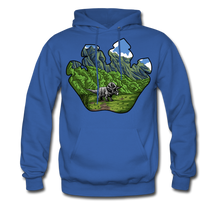 Load image into Gallery viewer, Triceratops - Midweight Hoodie - royal blue