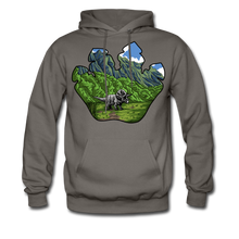 Load image into Gallery viewer, Triceratops - Midweight Hoodie - asphalt gray