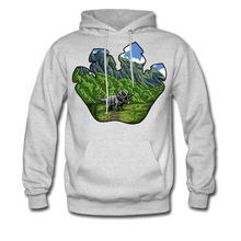 Load image into Gallery viewer, Triceratops - Midweight Hoodie - ash