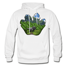 Load image into Gallery viewer, Triceratops Paw - Heavy Blend Hoodie - white