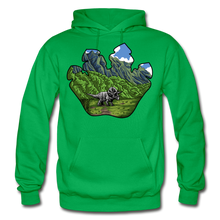 Load image into Gallery viewer, Triceratops Paw - Heavy Blend Hoodie - kelly green