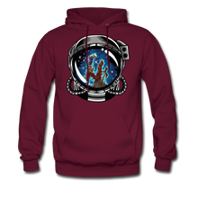 Load image into Gallery viewer, Pillars - Men's Midweight Hoodie - burgundy