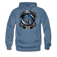 Load image into Gallery viewer, Pillars - Men's Midweight Hoodie - denim blue