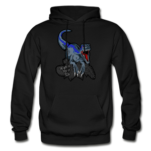 Watch Your Six - Heavy Blend Hoodie - black