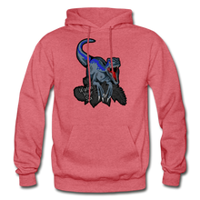 Load image into Gallery viewer, Watch Your Six - Heavy Blend Hoodie - heather red