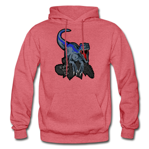 Watch Your Six - Heavy Blend Hoodie - heather red