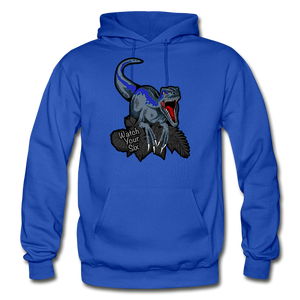 Watch Your Six - Heavy Blend Hoodie - royal blue