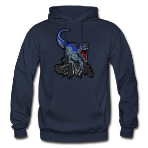 Watch Your Six - Heavy Blend Hoodie - navy