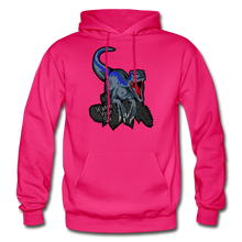 Load image into Gallery viewer, Watch Your Six - Heavy Blend Hoodie - fuchsia