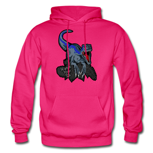 Watch Your Six - Heavy Blend Hoodie - fuchsia