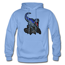 Load image into Gallery viewer, Watch Your Six - Heavy Blend Hoodie - carolina blue