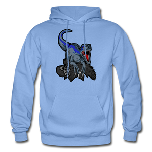 Watch Your Six - Heavy Blend Hoodie - carolina blue