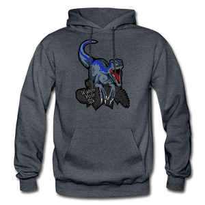 Watch Your Six - Heavy Blend Hoodie - charcoal gray