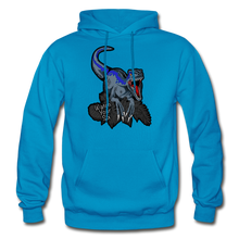 Load image into Gallery viewer, Watch Your Six - Heavy Blend Hoodie - turquoise